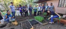 seedling distribution, ATI-RTC X, El Salvador City