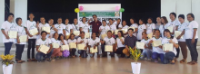 Photo of FBS participants with Mr. Efren G. Macario