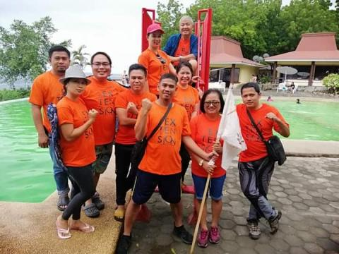 Orange team, Overall Champion, ATI-RTC XII Teambuilding, Happiness Galore