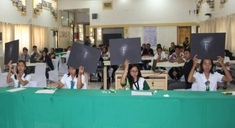 On-going quiz bee.
