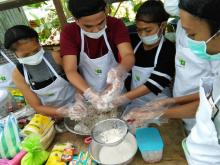 Skills Training on Cassava Processing, Packaging and Labelling for 4-H Club Members