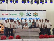 Ceremonial MOA Signing