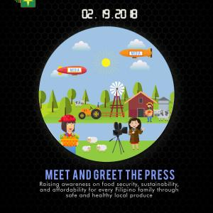 Meet and Greet the Press Official Activity Poster