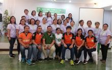 30 rural women and AEWs from the four municipalities of Aklan attended the three-day training on Disaster Risk Reduction Management in support to the regular program for Gender and Development (GAD). (Photo: Amie Pabelico Fernandez)