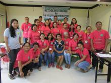 Participants with ATI-7 Training Team headed by Dr. Gracia F. Arado, PhD.