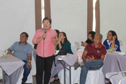 Dr. Andrea Inocencio from Bureau of Plant Industry (BPI) discussed the CCMEA guidelines.