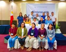 Region IX delegates with the ATI Center Directors of the Mindanao Regions during the 2nd Farm Family Congress at the Ritz Hotel, Davao City.