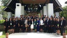 Delegates from the ASEAN Member States attend the 24th AWGATE meeting in Thailand.
