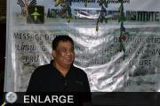 Organic farmer Rey Pedroso