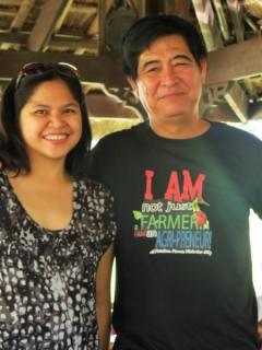 Mr. Ramon Peñalosa, Jr. of Peñalosa Farms in Negros Occidental