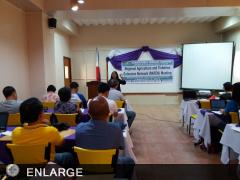 ATI-RTC 5 OIC Vivien Carable addresses the RAFEN members