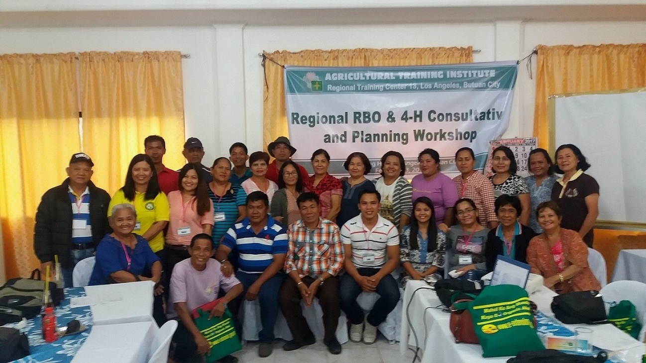 latest from the regions agricultural training institute the agricultural training institute regional training center ati rtc 13 successfully conducted the consultation and planning workshop for the rural based