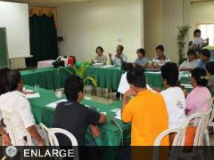 Consultative meeting on Indigenous Peoples with Center Director Rogelio Evangelista (photo by Sherwin Dannog)