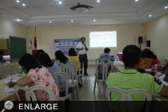 Dr. Rogelio Evangelista, ATI-RTC 1 TCS II speaking during the RBO consultation and planning workshop