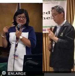 Husband and Wife Team of ATI Northern Mindanao Speaks Before ASEAN Audience