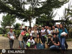 Yiung farmers and 4-H'ers of Talakag, Bukidnon after the BINHI ng Pagasa program