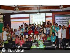 The HANDOG recipients who participated in the Training on Sustainable Livestock Production.