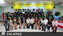 27 YES Scholars of Region 6 graduate from 2-year ladderized program