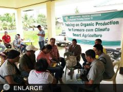 Climate Smart Agriculture and Organic Production pushed in Lemery, Iloilo