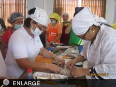 Sulat senior citizens engage in food processing