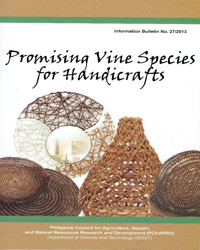 An Information Bulletin On Vine Species For Handicrafts