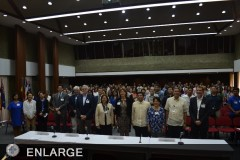 Participants and guests during the 2017 Agri-Food Lecture Programme held in Laguna (Photo Courtesy of UPLB)