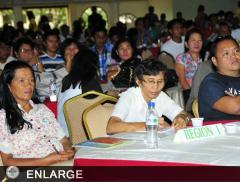 Magsasaka Siyentista participants listening to the speaker (photo by Clemente A. Gabion)