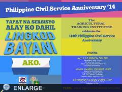 ATI Celebrates 114th Civil Service Anniversary