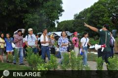 Farm Camp delegates visit Agri-Tourism Model Farms (Photo: Boyet Gabion)