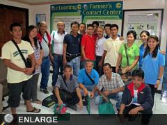 Organic Agriculture pratitioners and technical staff from Region 5
