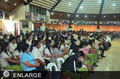 Students from LSPU were among the audience during the launching of the new e-Learning course on Pangasius