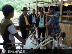The Magsasaka Siyentista participants during farm visit