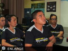TOT participants enrolled in e-Learning Courses to complement their training