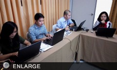 ATI-ISD Core Group during the Courseware Tutorials in Benguet