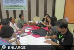 IFYE particpants during the planning workshop (photo courtesy of ATI - Extension Programs and Partnership Division)