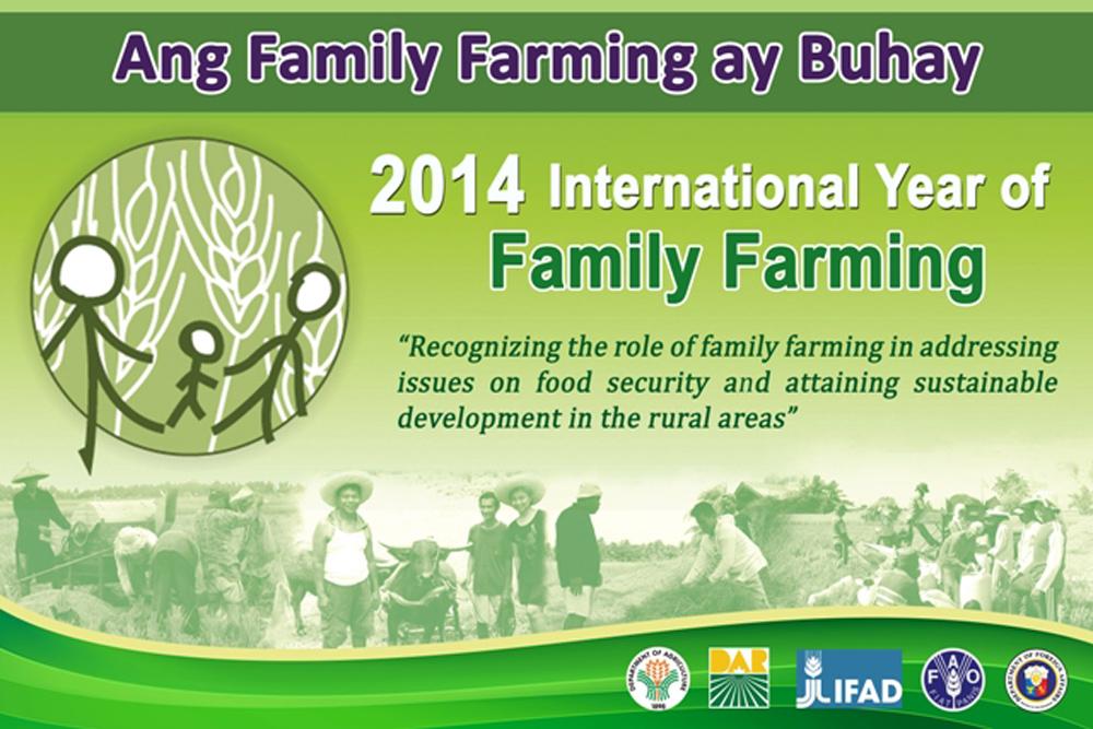 DA, DAR Lead 2014 International Year of Family Farming Celebration ...